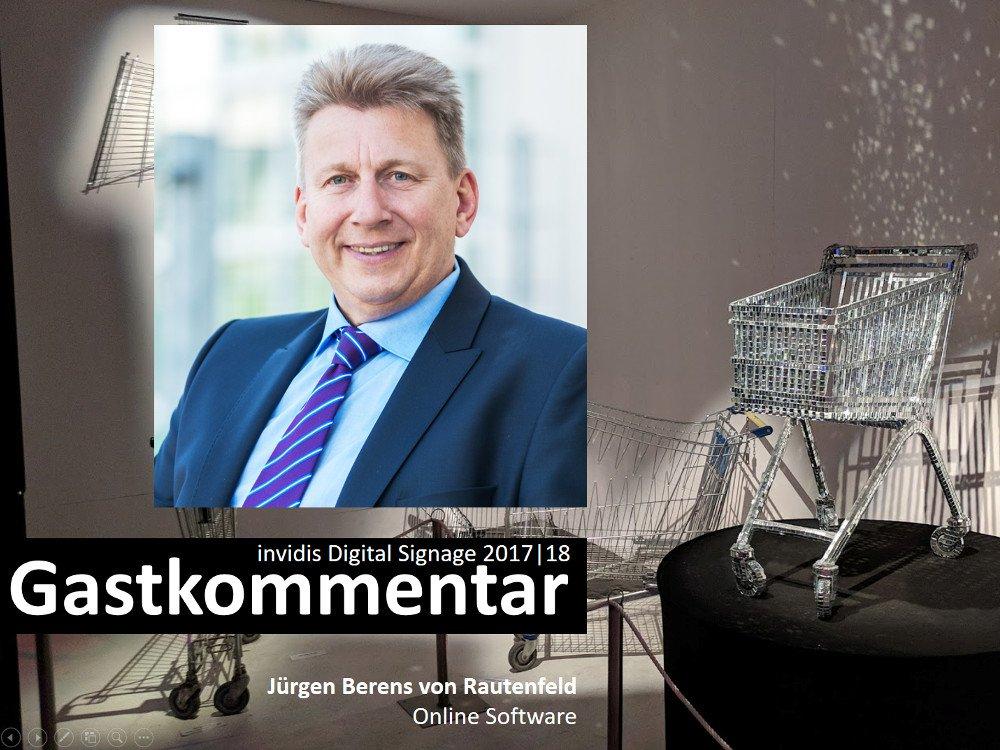 invidis Jahreskommentar Jürgen Berens von Rautenfeld | Online Software (Foto: Online Software AG)