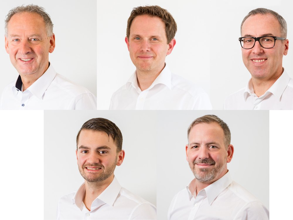 Fünf neue Mitarbeiter verstärken macom seit 2017 (Foto: macom GmbH)