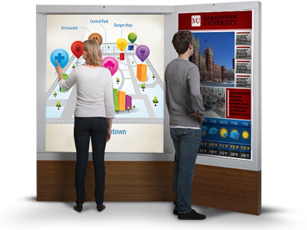 Interaktive Screens werden bei Toshiba ein Messeschwerpunkt sein (Foto: Toshiba)