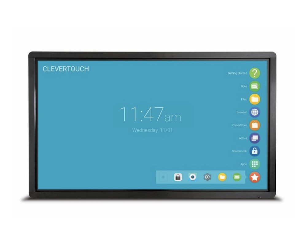 Interaktiver Clevertouch Screen (Foto: Clevertouch)