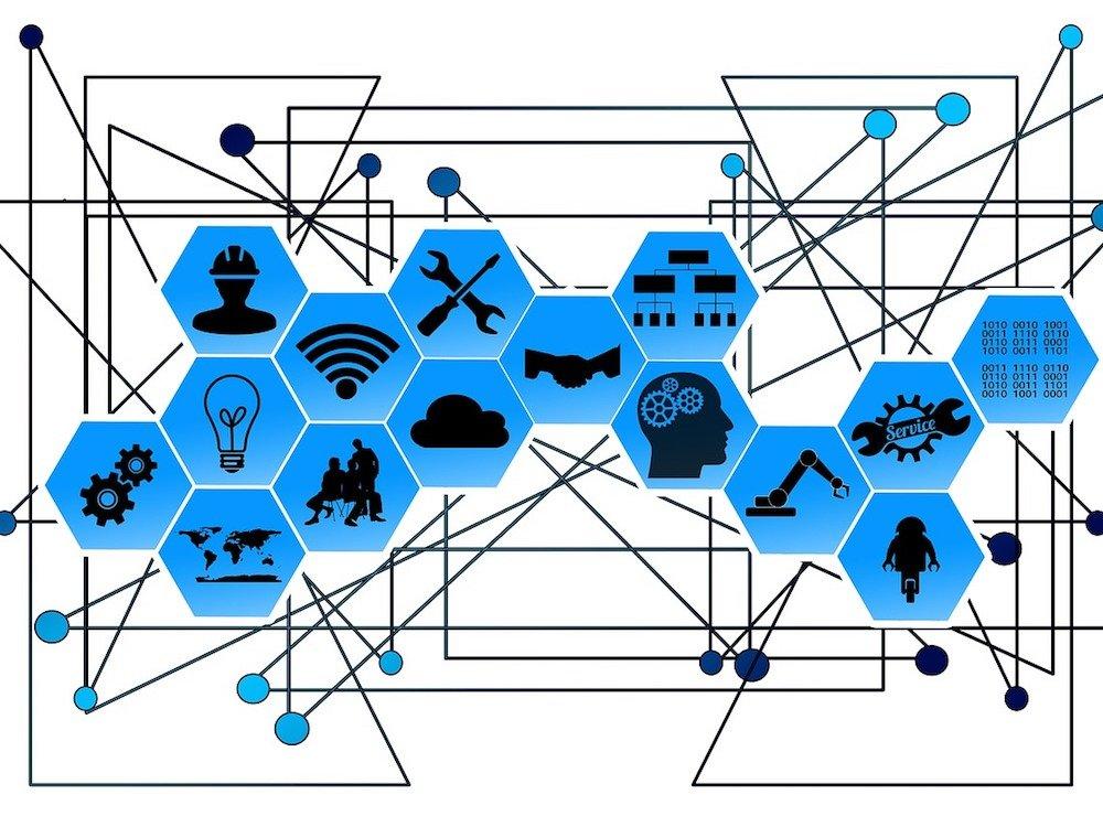 Sensorik und Blockchain liefern die Infrastruktur für neue Business-Modelle (Grafik: Pixabay / gerait)