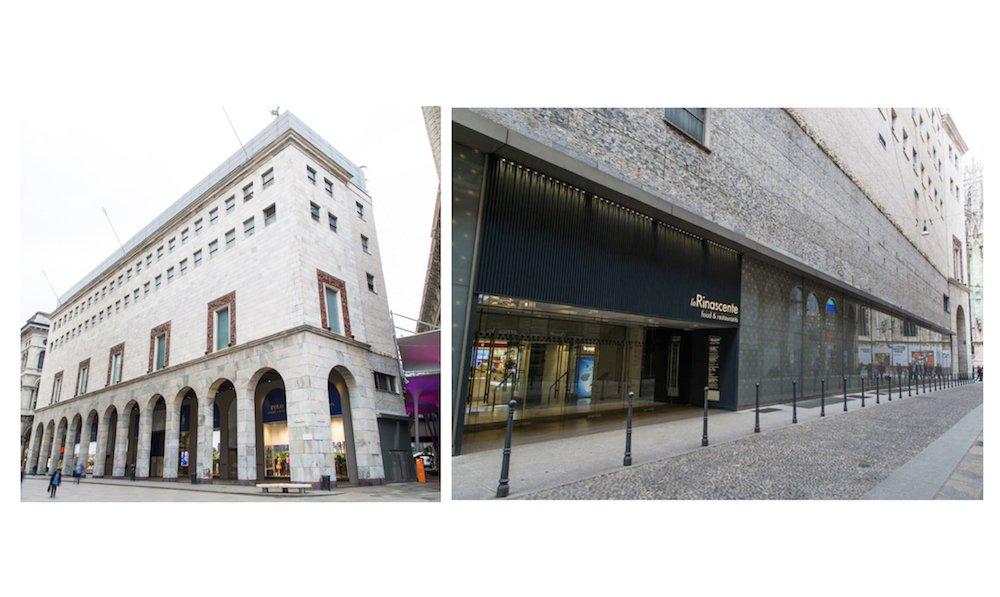 Stammhaus in Mailand hier begann Rinascentes Erfolgsgeschichte (Fotos: La Rinascente)