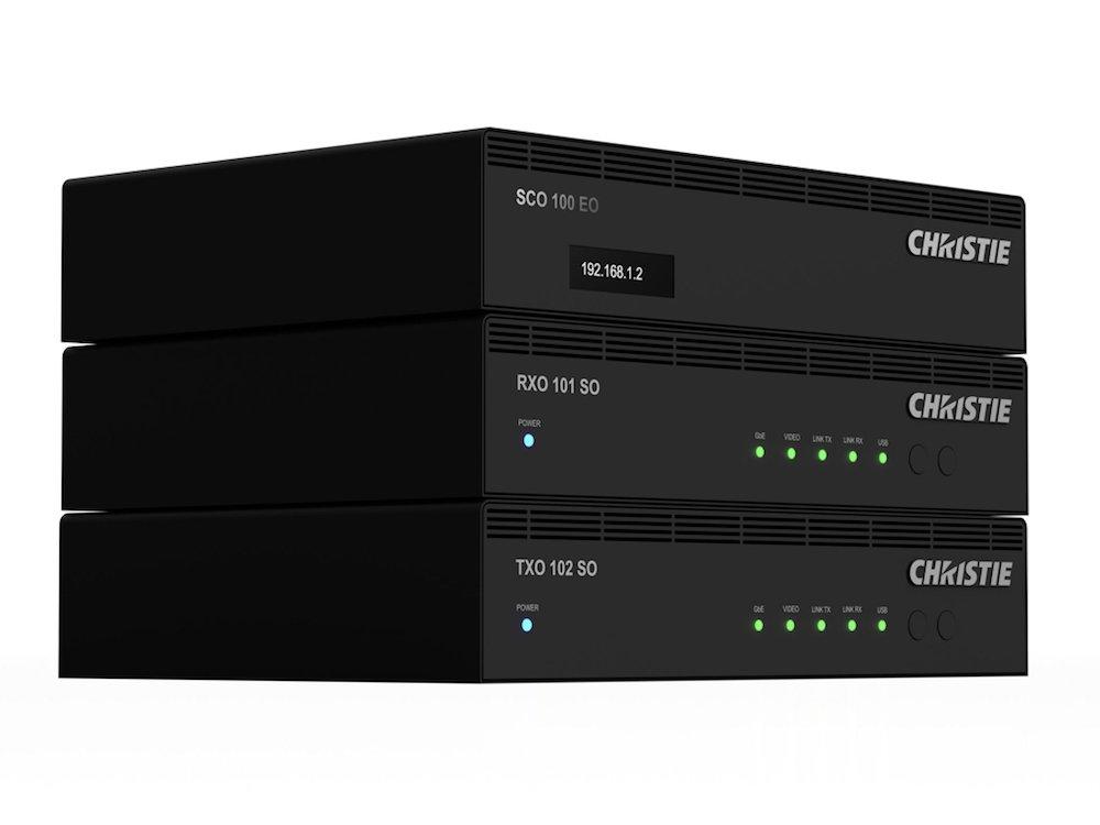 Terra ist Christies neue AV-over-IP-Lösung für 4K (Foto: Christie)