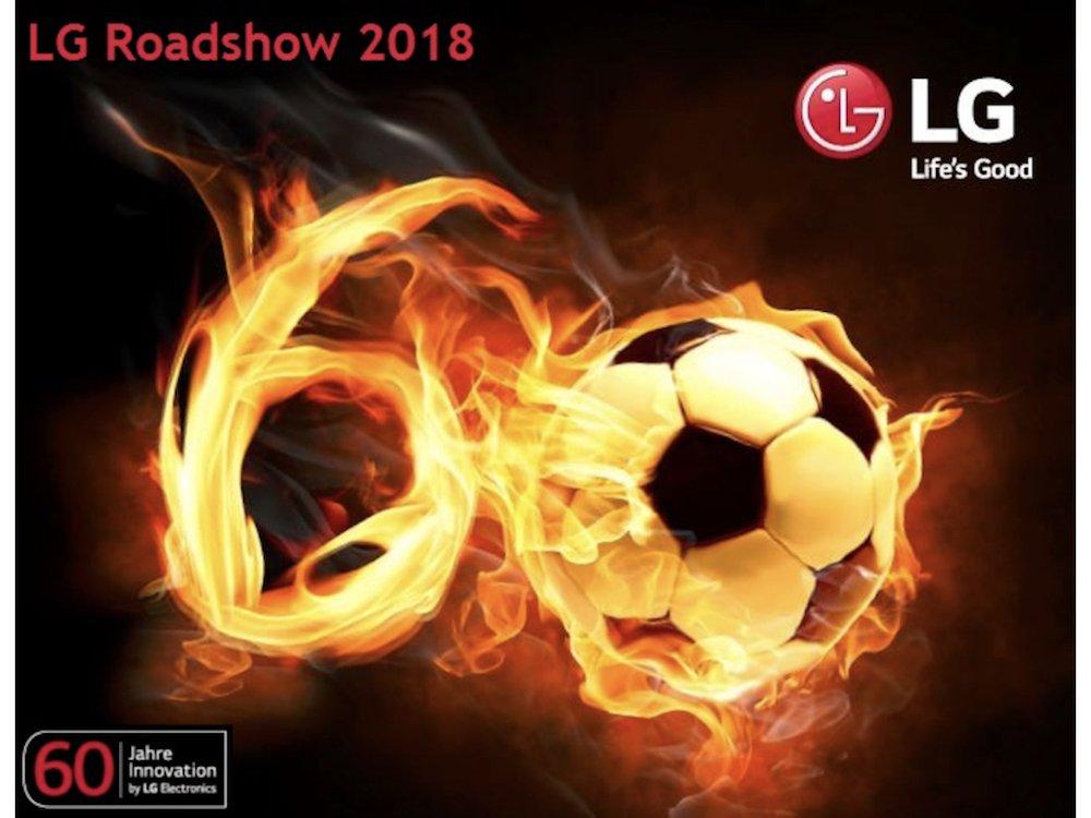 Visual der kommenden LG Roadshow (Foto: LG)