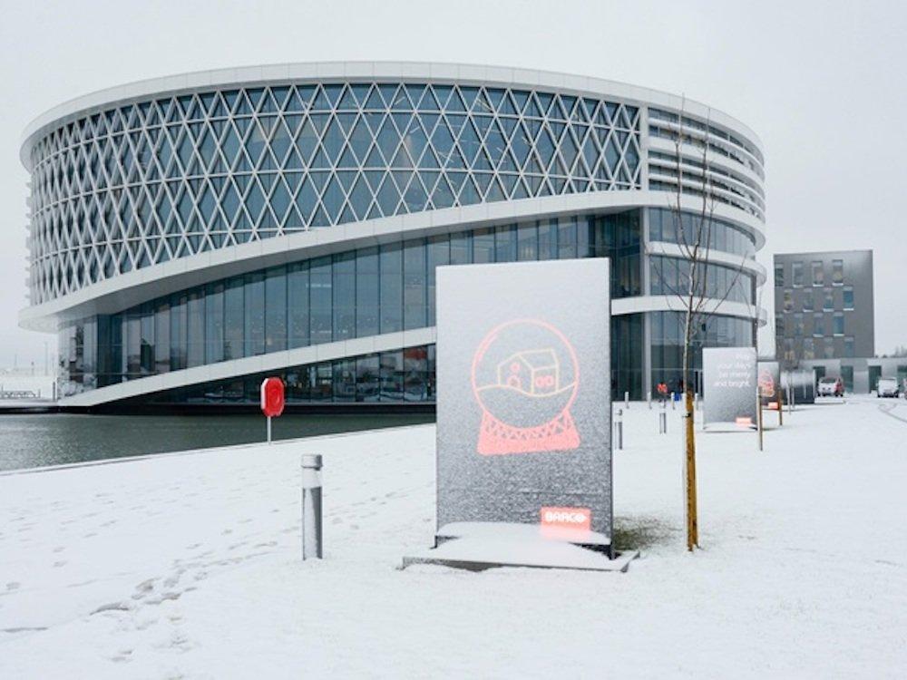 Zentrale von Barco in Belgien (Foto: Barco)