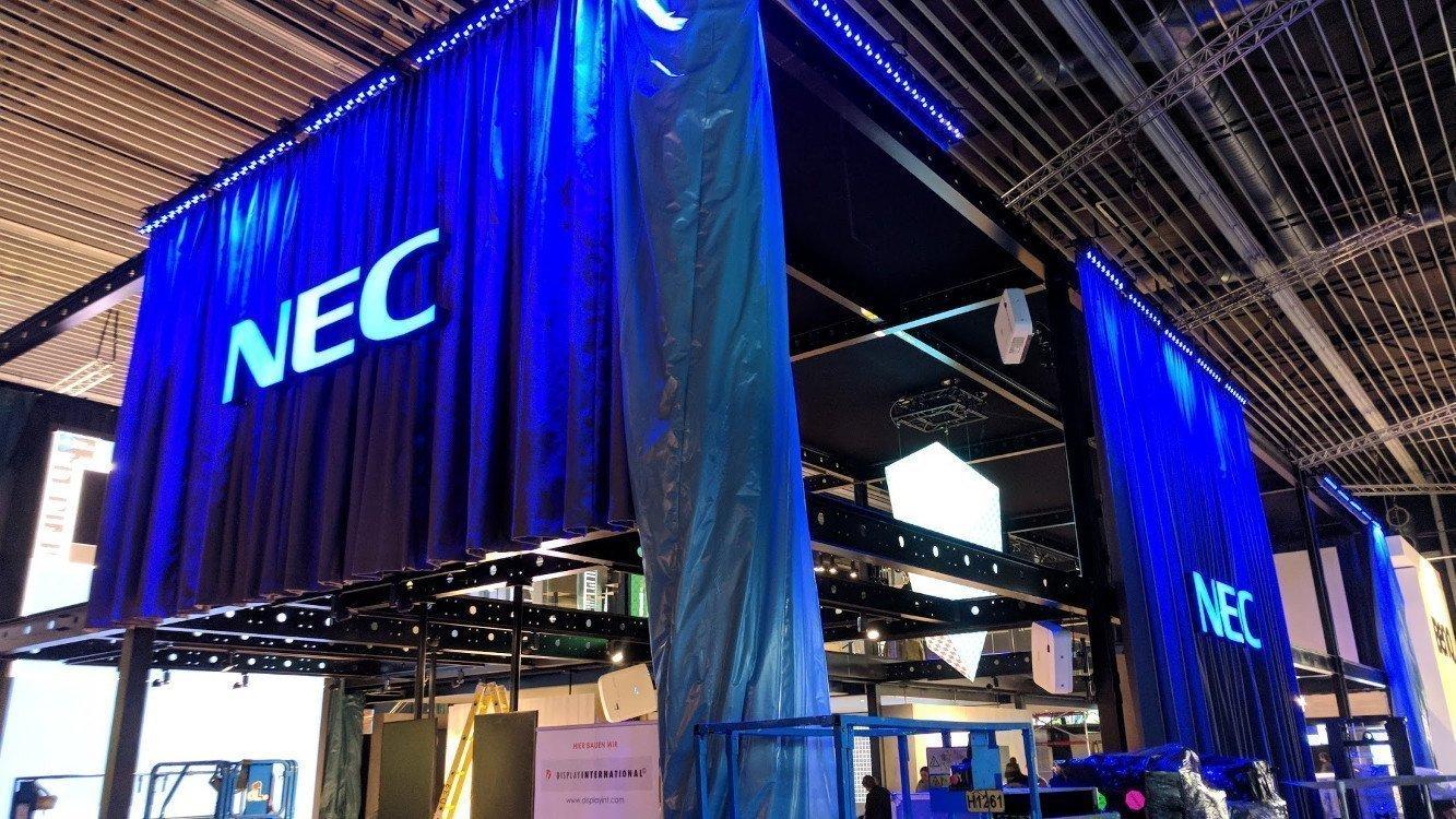 "NEC noch nicht ganz ""ready to impress"" (Foto: invidis)"