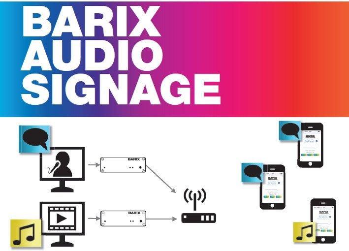 Barix Audio Signage (Foto: Barix)