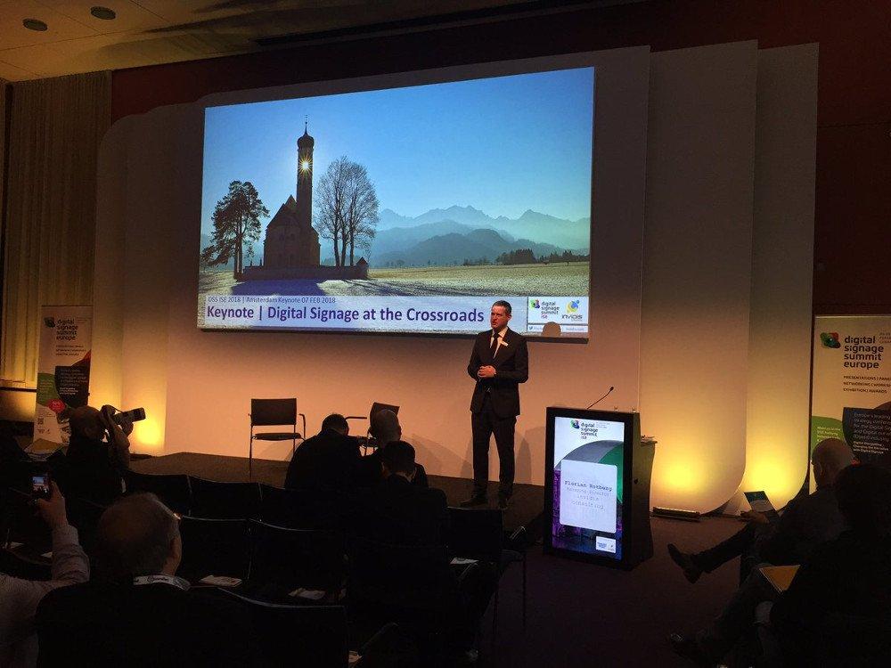DSS ISE 2018 Florian Rotberg Keynote (Foto: invidis)