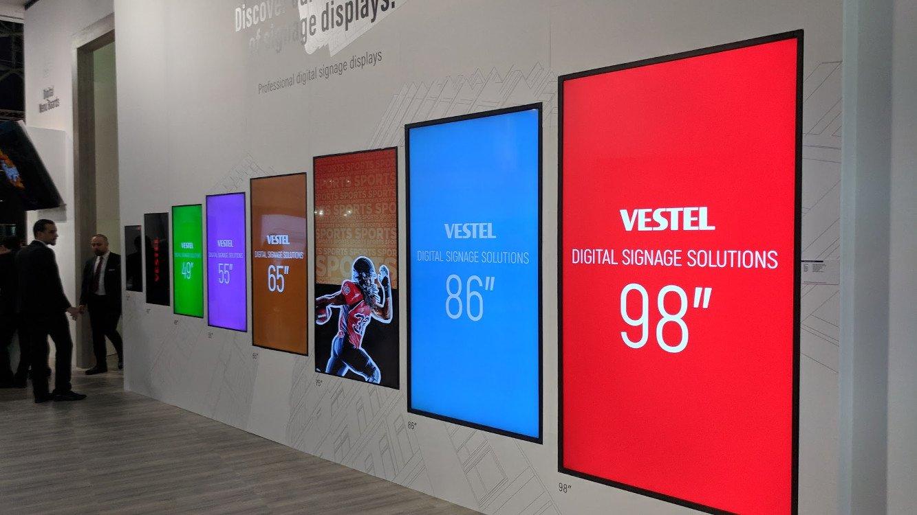 ISE 2018 Vestel (Foto: invidis)