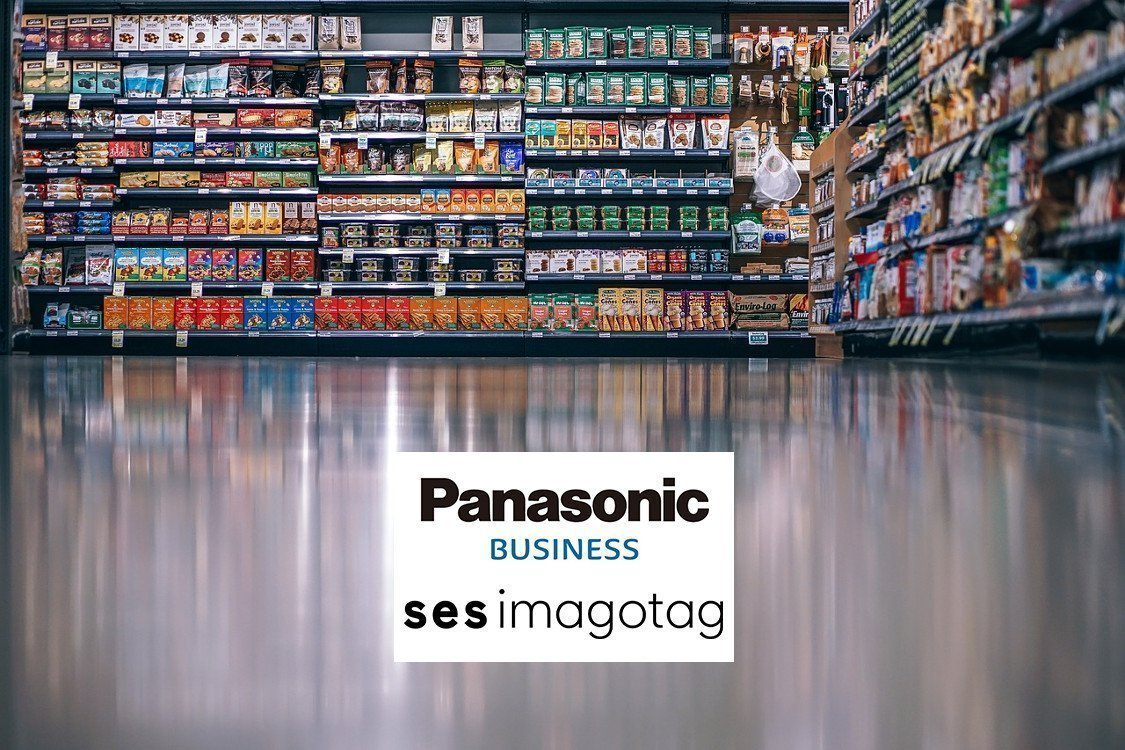 Kooperation von Panasonic und SES-Imagotag (Foto: Collage invidis)