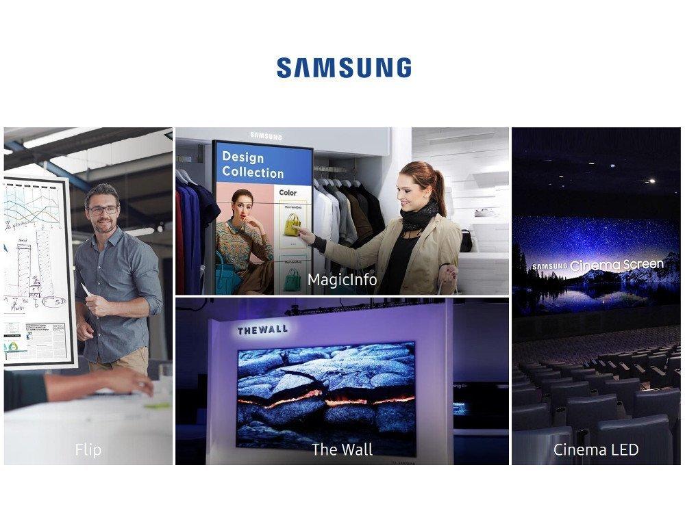 Samsung auf der ISE (Foto: Samsung)