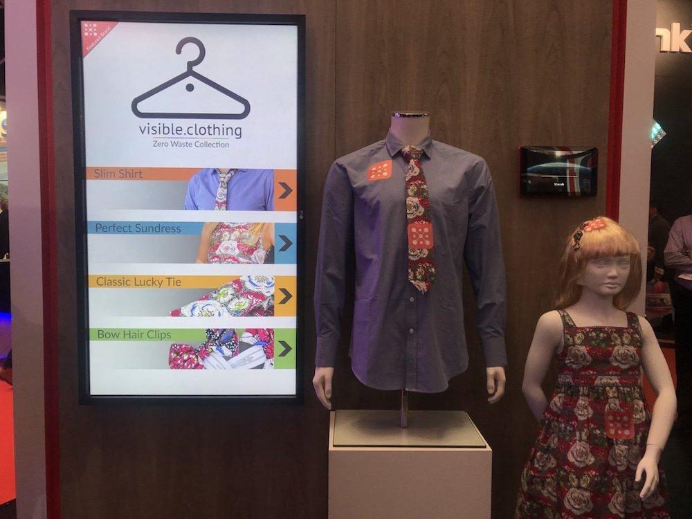 Am Stand von Scala zu sehen – Umsetzung für Visible Clothing (Foto: Scala)