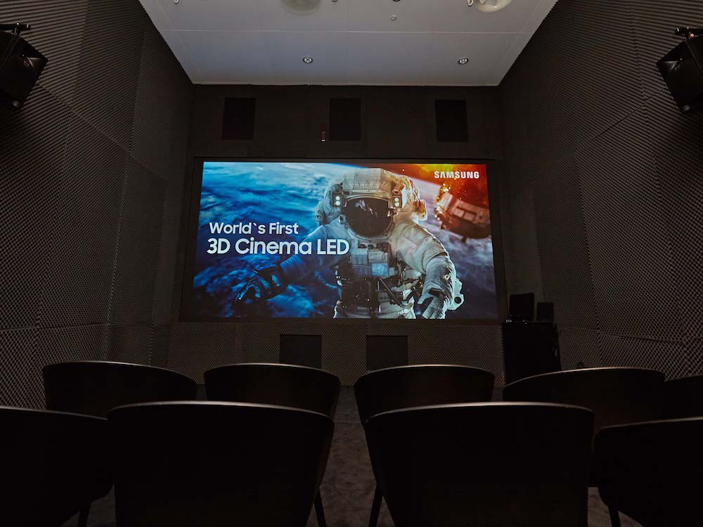 Der zweite Cinema LED Screen ist ein 3D LED Display (Foto: invidis)