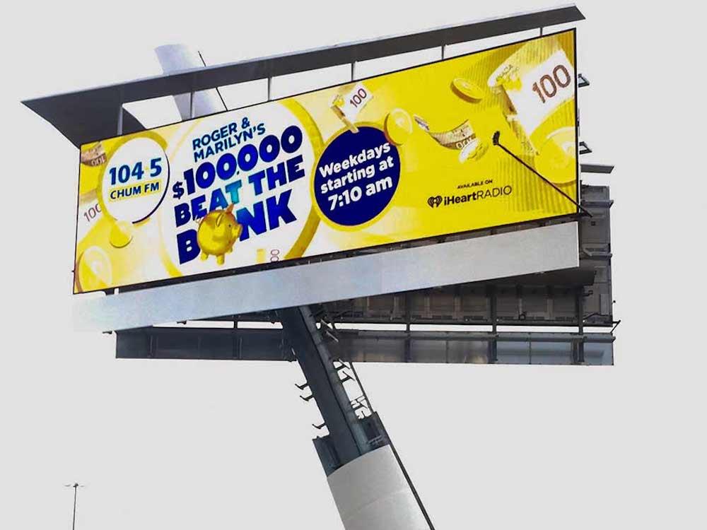 Ein DB5100 Billboard im Einsatz (Foto: Daktronics)
