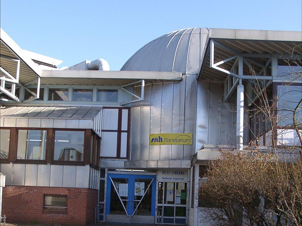 Kuppel des Stellariums in Erkrath (Foto: Sternwarte Neanderhöhe Hochdahl)