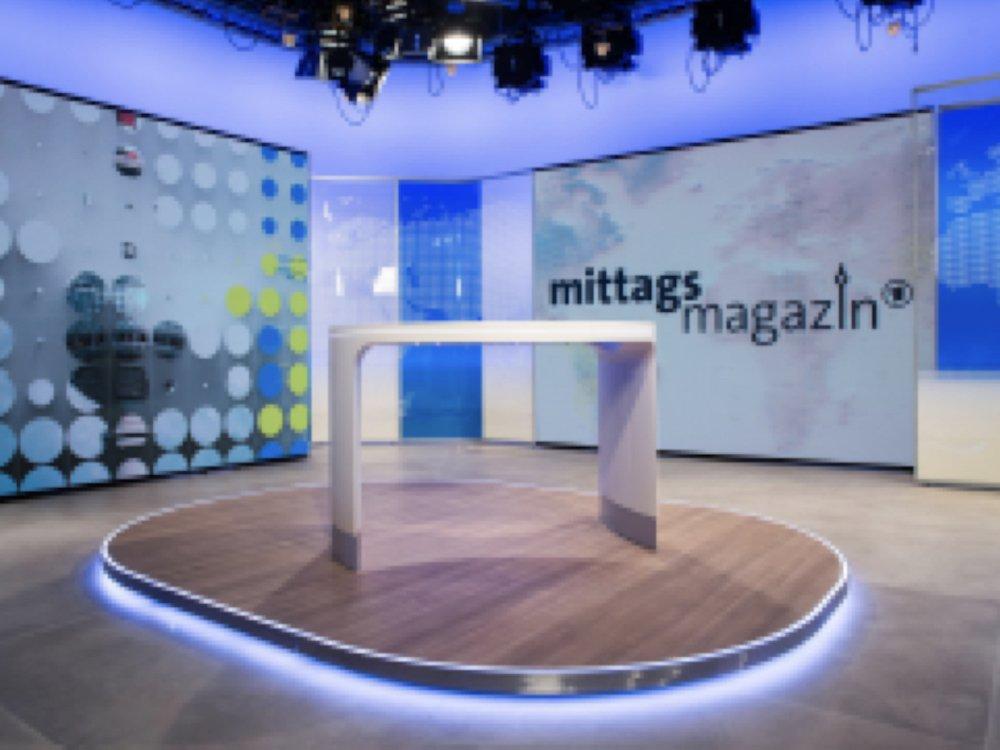 LED Wall im Berliner Hauptstadtstudio des ZDF(Foto: rbb / Thomas Ernst)