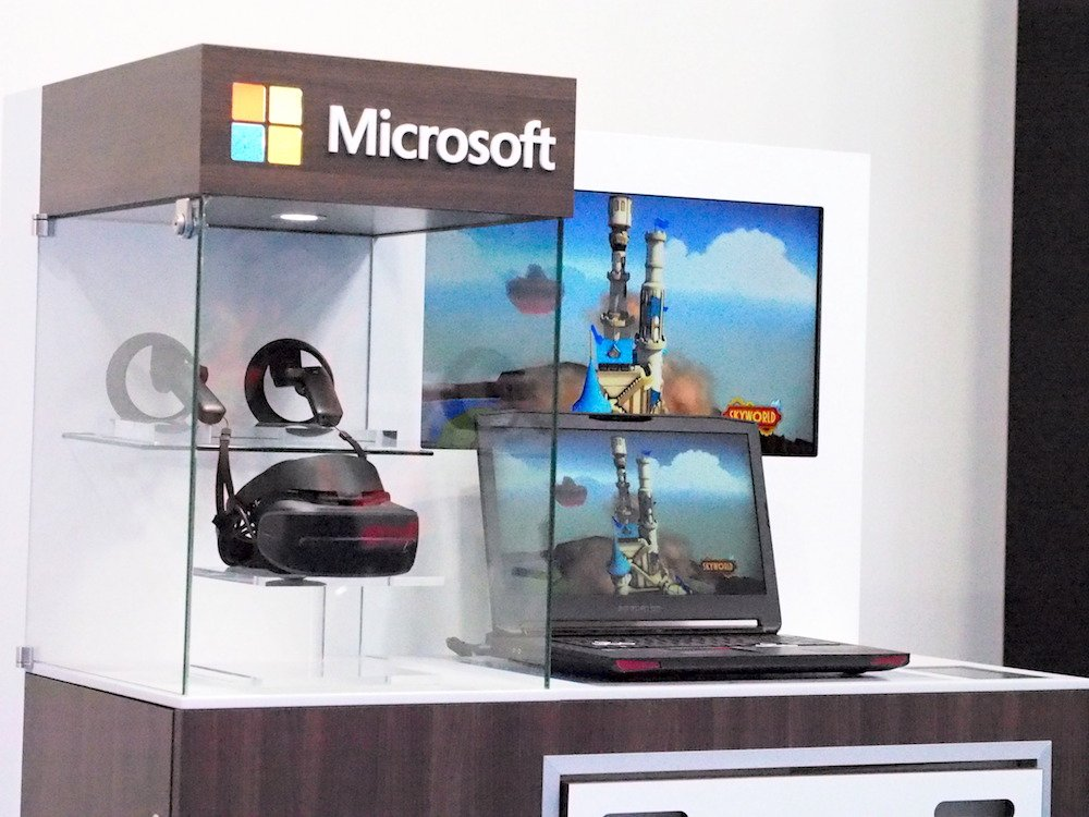 Microsoft macht Mixed Reality am PoS begehrenswert (Foto: invidis)
