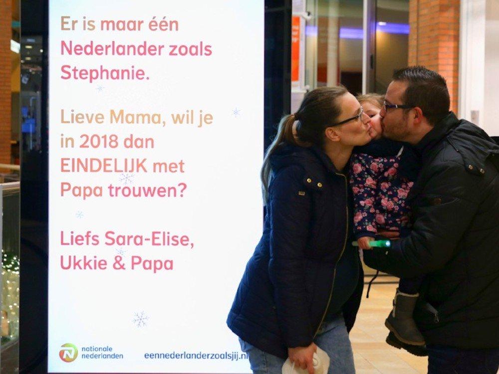 Stephanie und Stefan haben sich dann doch getraut (Foto: Exterion Media)