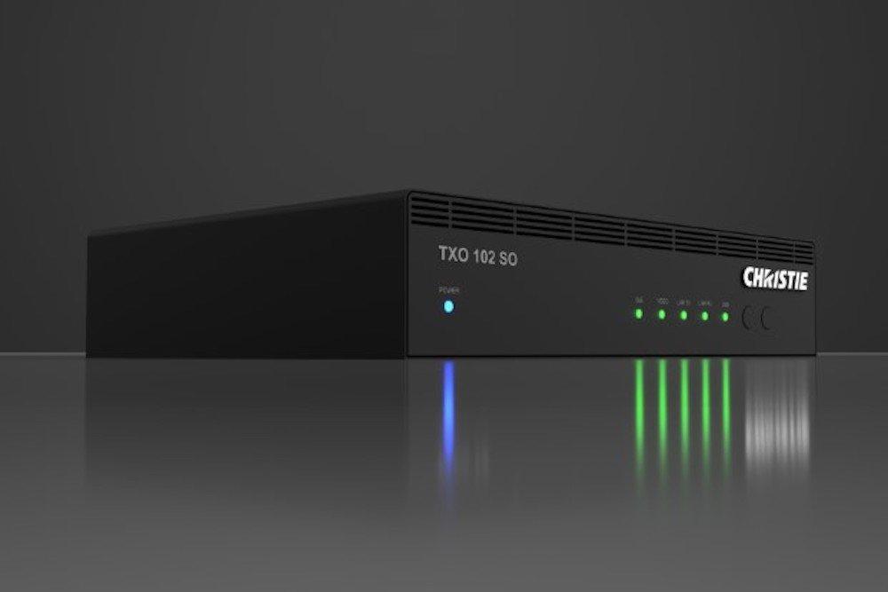 Terra Transmitter Zudem sind Receiver und Controller als Geräte verfügbar (Foto: Christie)