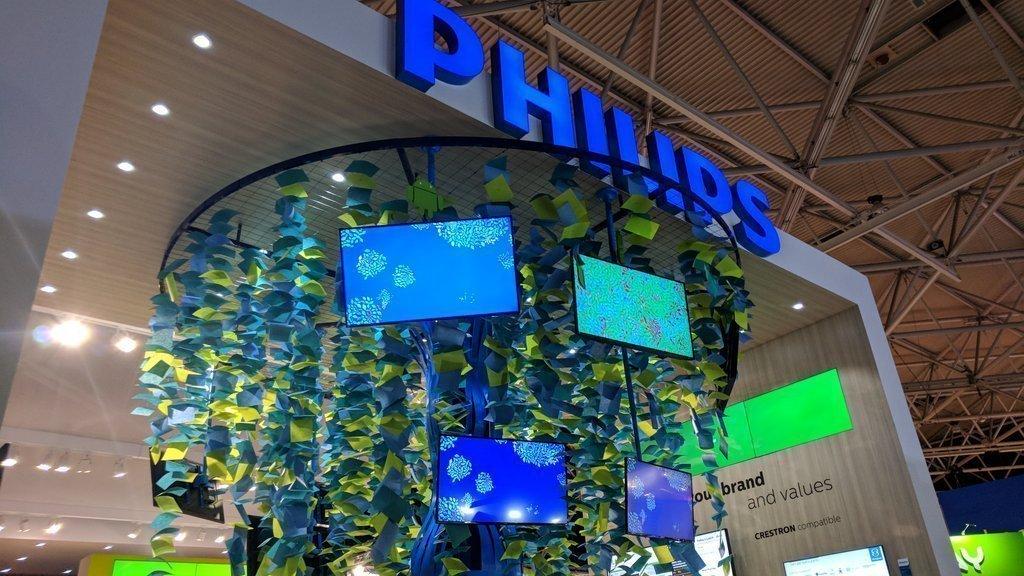 Phlips auf der ISE 2018 (Foto: invidis)