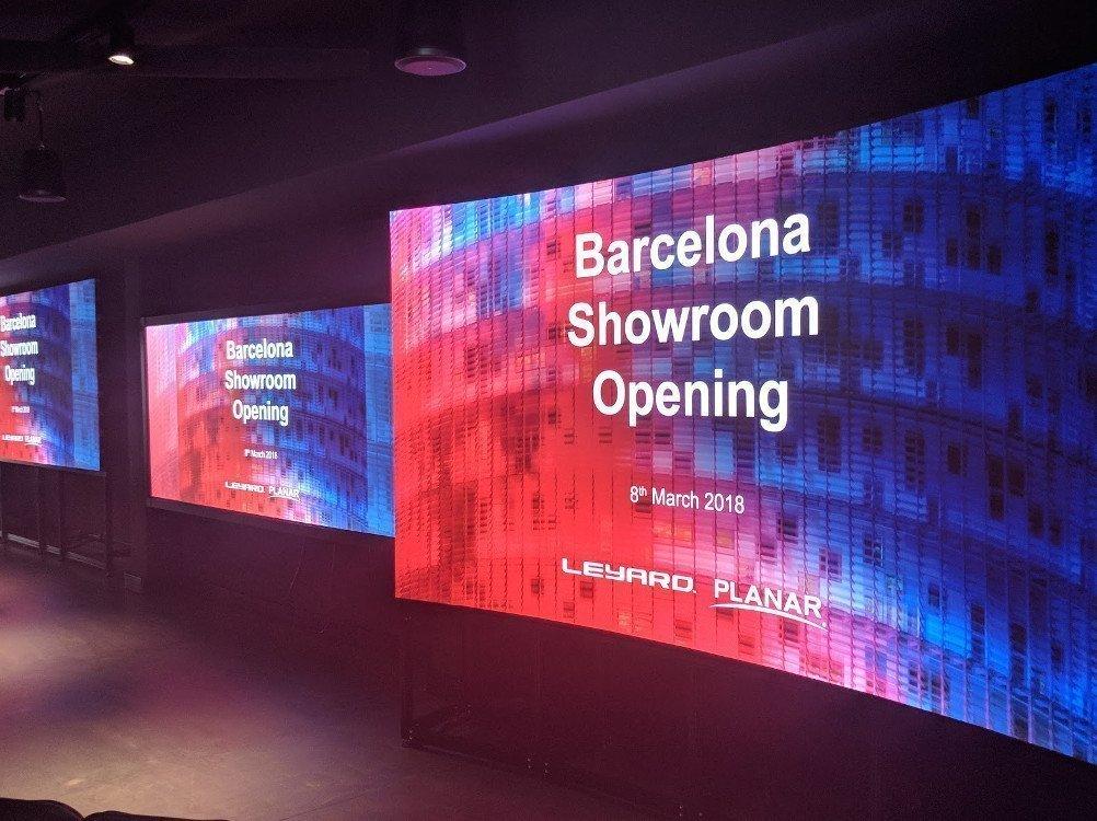 Leyard Planar eröffnet Showroom (Foto: invidis)