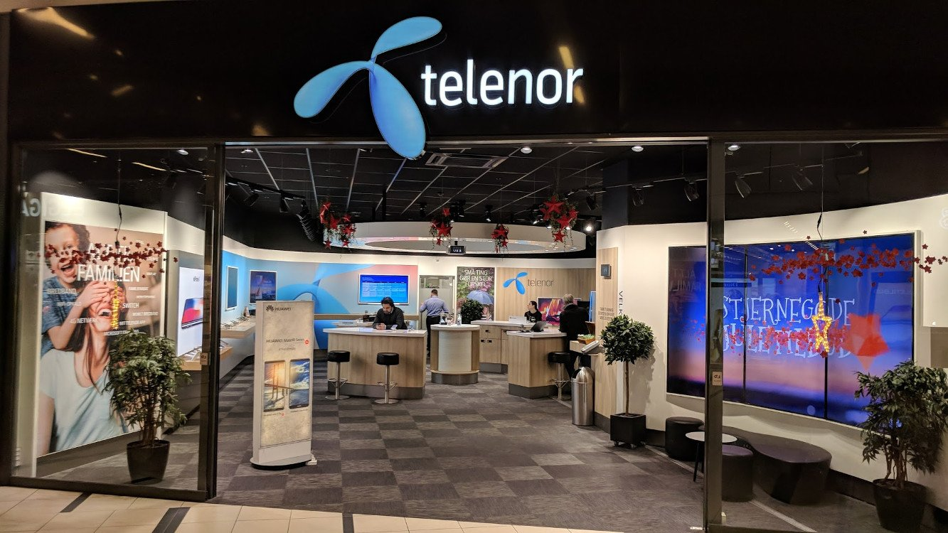 Telenor (DK) Mall Store (Foto: invidis)