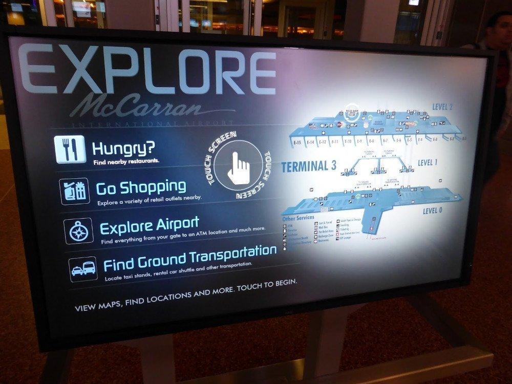 Las Vegas Digital Signage von NEC (Foto: invidis)