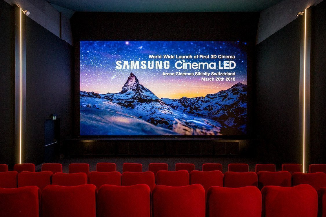 Erstes LED Cinema in Europa (Foto: Samsung)