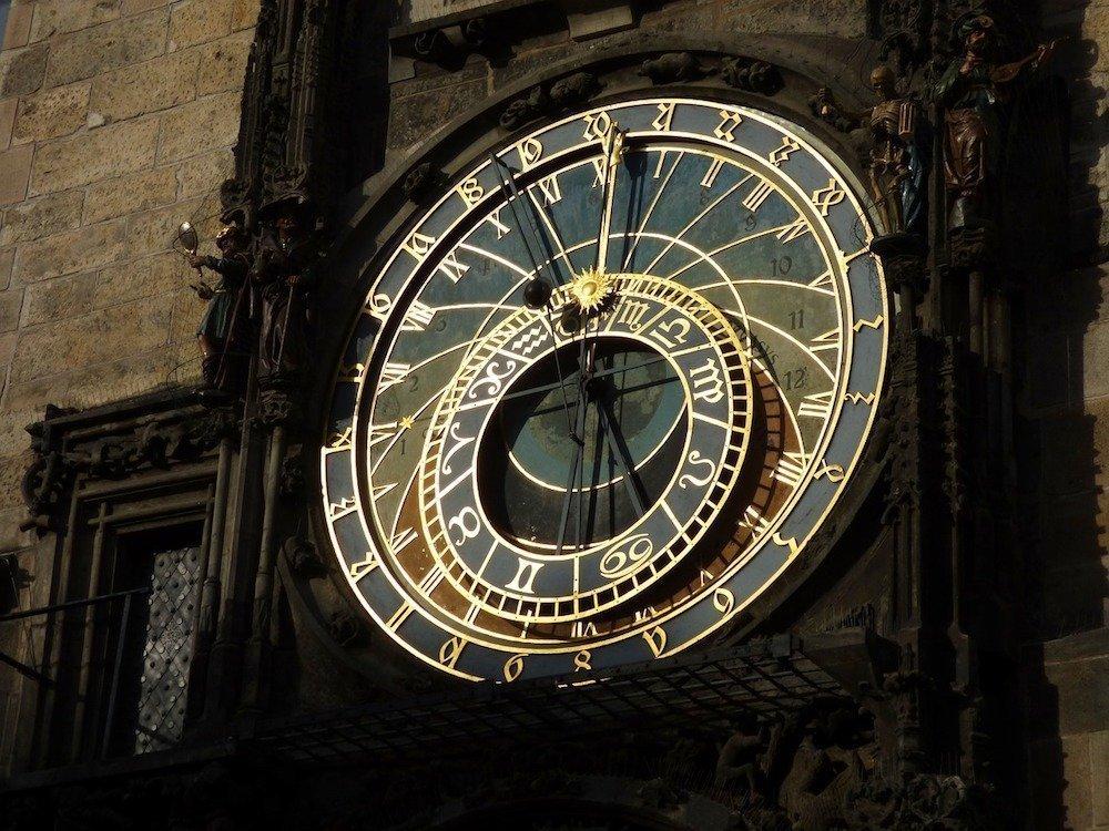 Aposteluhr am Rathaus von Prag (Foto: Pixabay / Tomasz_Mikolajczyk)