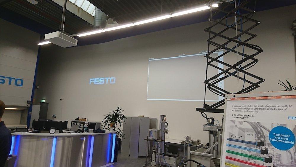 Auch Projektionslösungen kommen zum Einsatz (Foto: Sony)