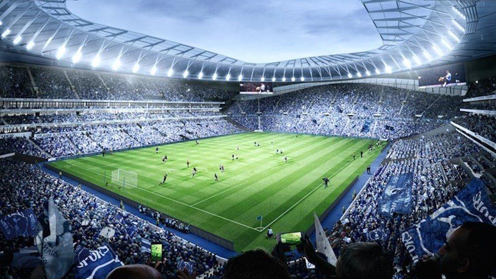 Geplante Installationen im Innern des Bowl (Foto / Rendering: Tottenham Hotspur)