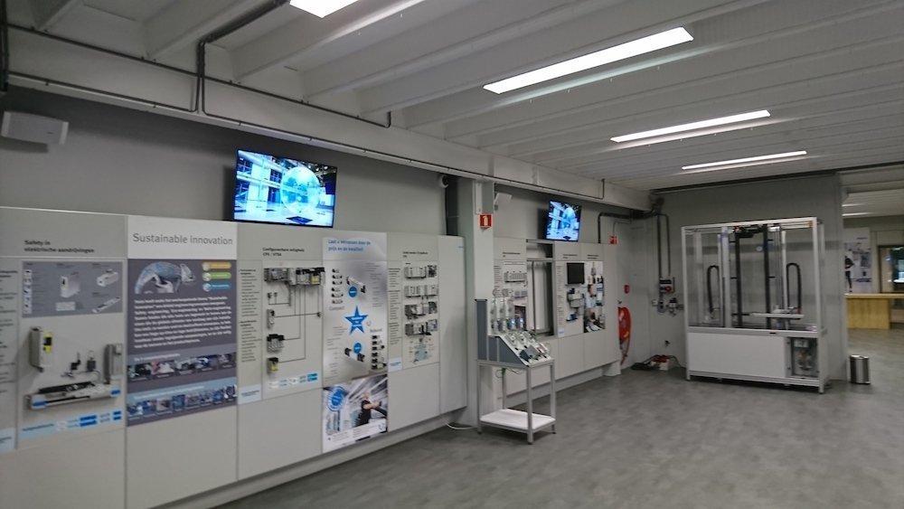 In den Niederlanden im Einsatz – Experience Centre von Festo (Foto: Sony)