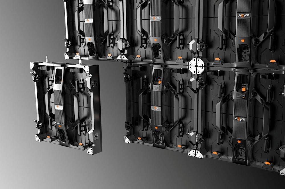 LED Wall aus Polaris-Modulen (Foto: Gahrens + Battermann)
