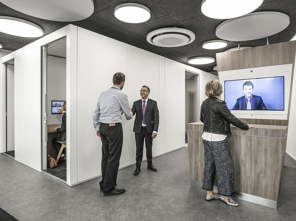 Valiant setzt auf Digitalisierung – neue Filiale in Morges (Foto: Valiant)