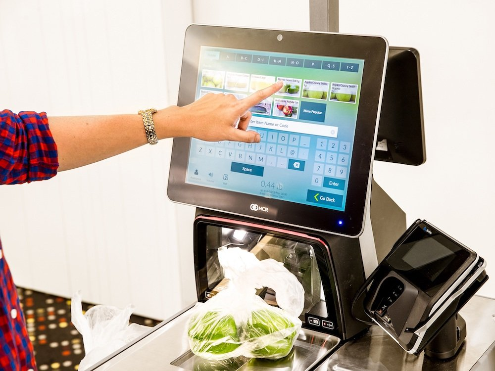 Self Checkout-Kasse von NCR (Foto: NCR)