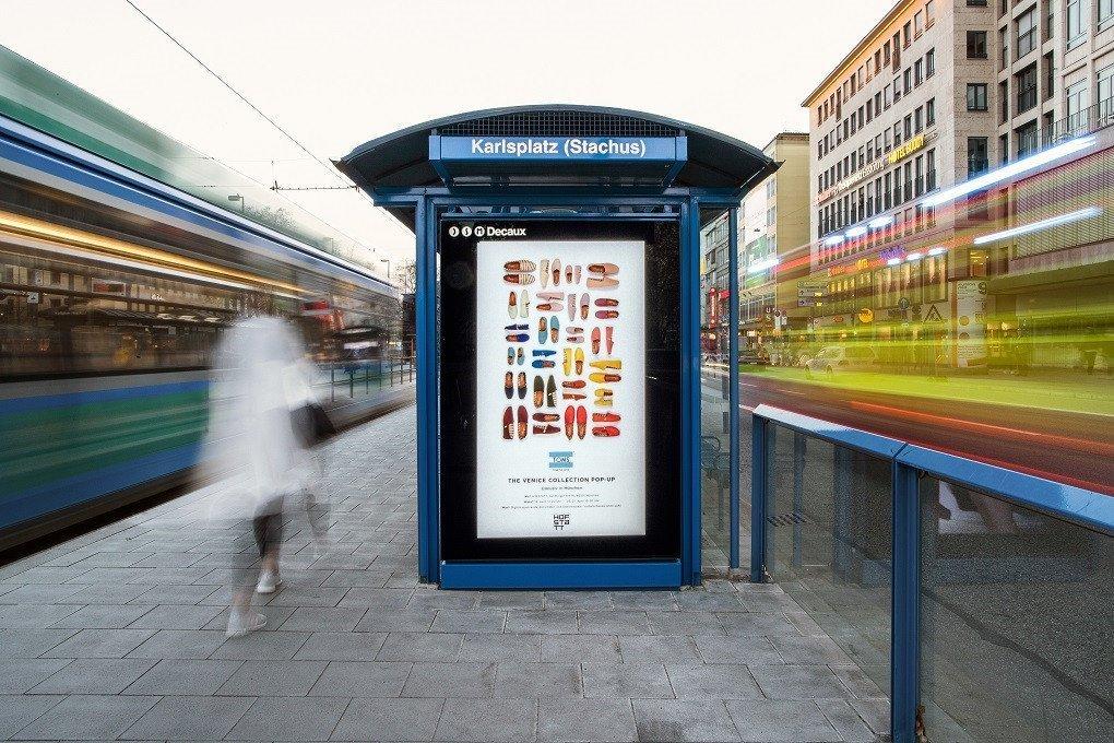 Digitale CLP des JCDecaux/Ströer JV in München (Foto: DSMDecaux)