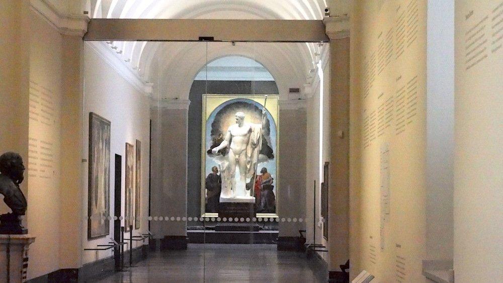 Der Palazzo ist ein Tempel für Kunst und Wissenschaft (Foto: invidis)