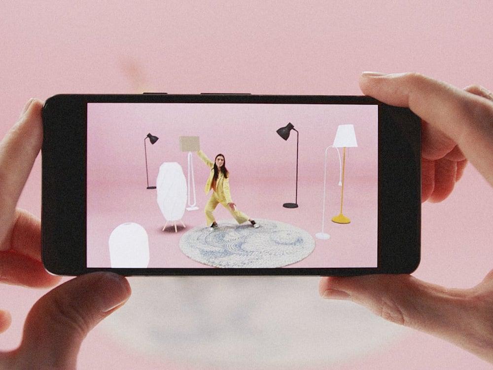 Einsatz von AR mit einer App von Ikea (Foto: Ikea)