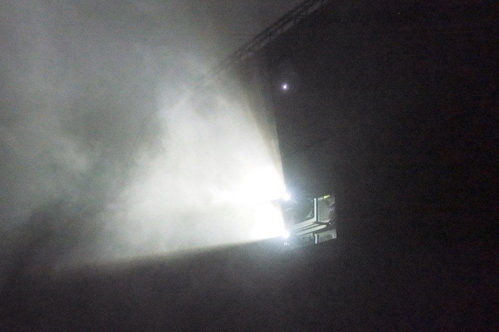 Fisheye-Optiken sorgten mit den High Brightness 4K Projektoren für die optische Inszenierunfg (Foto: invidis)