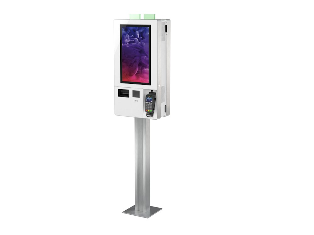 Interaktive Lösung für den Handel – K-two Kiosk (Foto: Diebold Nixdorf)