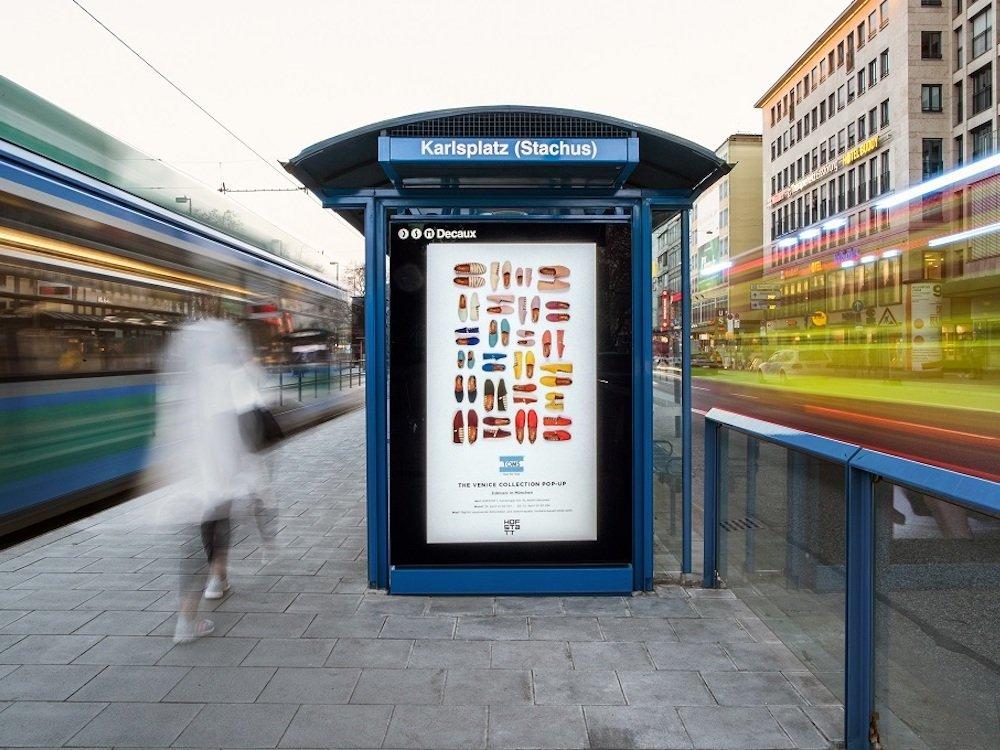 Neuer DooH Screen am Stachus in München (Foto: WallDecaux)