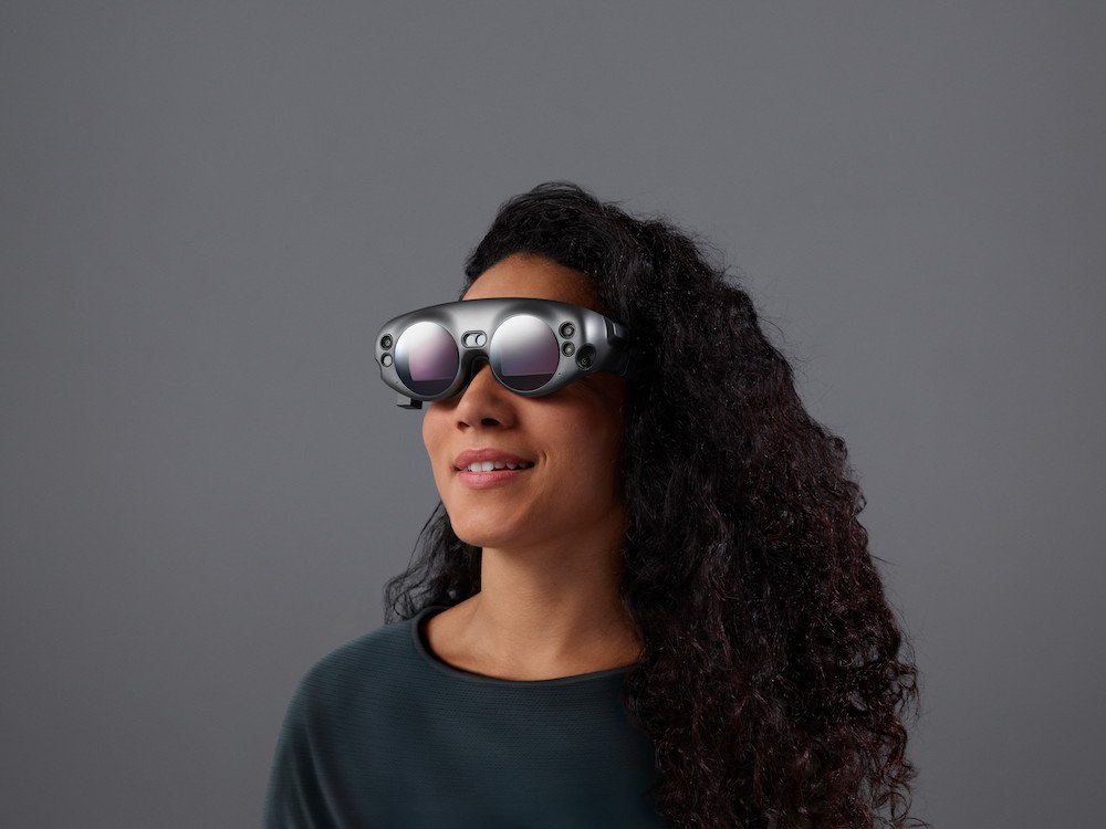 Nutzerin mit einer Magic Leap One (Foto: Magic Leap)