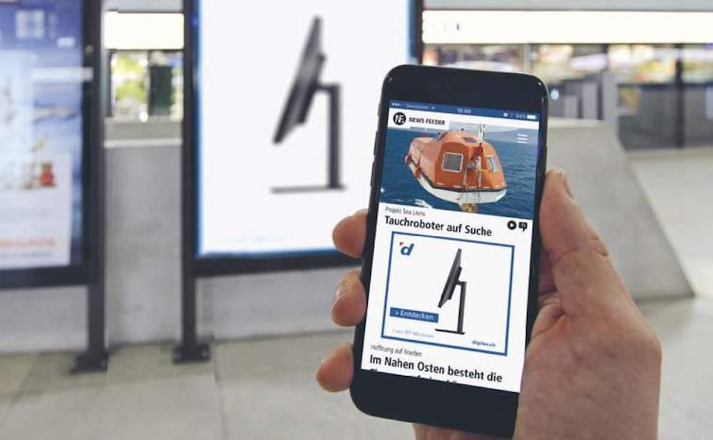 Passgenaue Ausspielung eines Mobile Ads (Foto: APG|SGA)