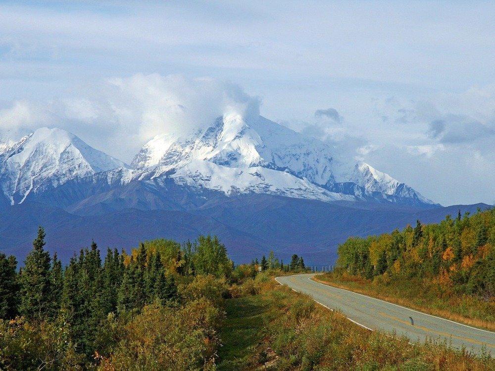 Strasse in Alaska (Foto: Pixabay / 12019)