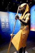 Zahlreiche Artefakte waren ausserhalb Äyptens noch nicht zu sehen (Foto: Casey Rodgers / AP Images for IMG)