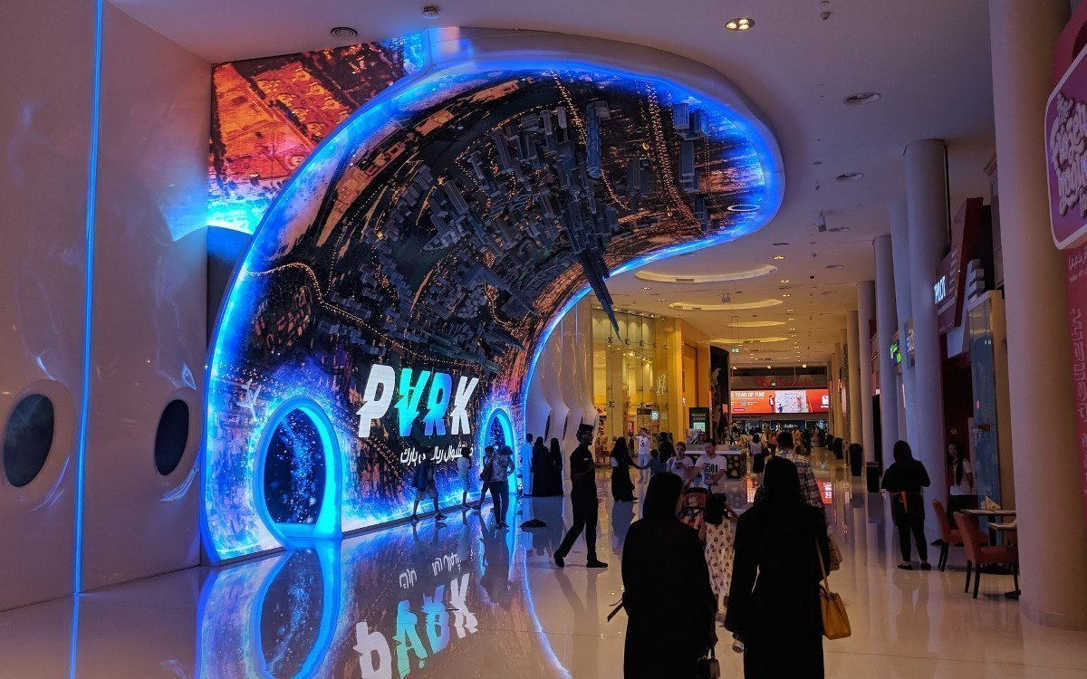 VR/AR Park in The Dubai Mall (Foto:invidis)