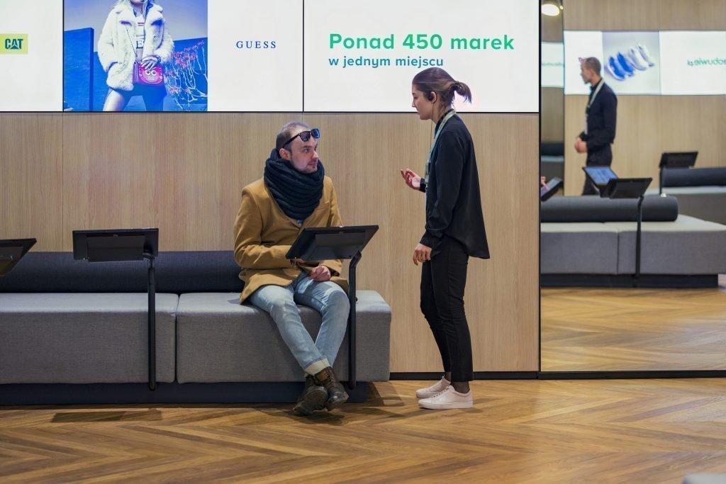 Eobuwie mit neuem digitalen Offline-Konzept (Foto: dalzielandpow)