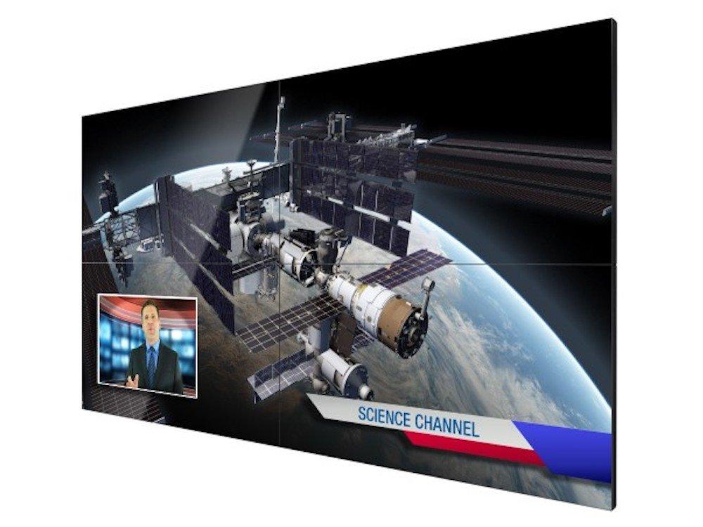 "2x2-Videowall aus Screens der ""Extreme""-Serie (Foto: Christie)"