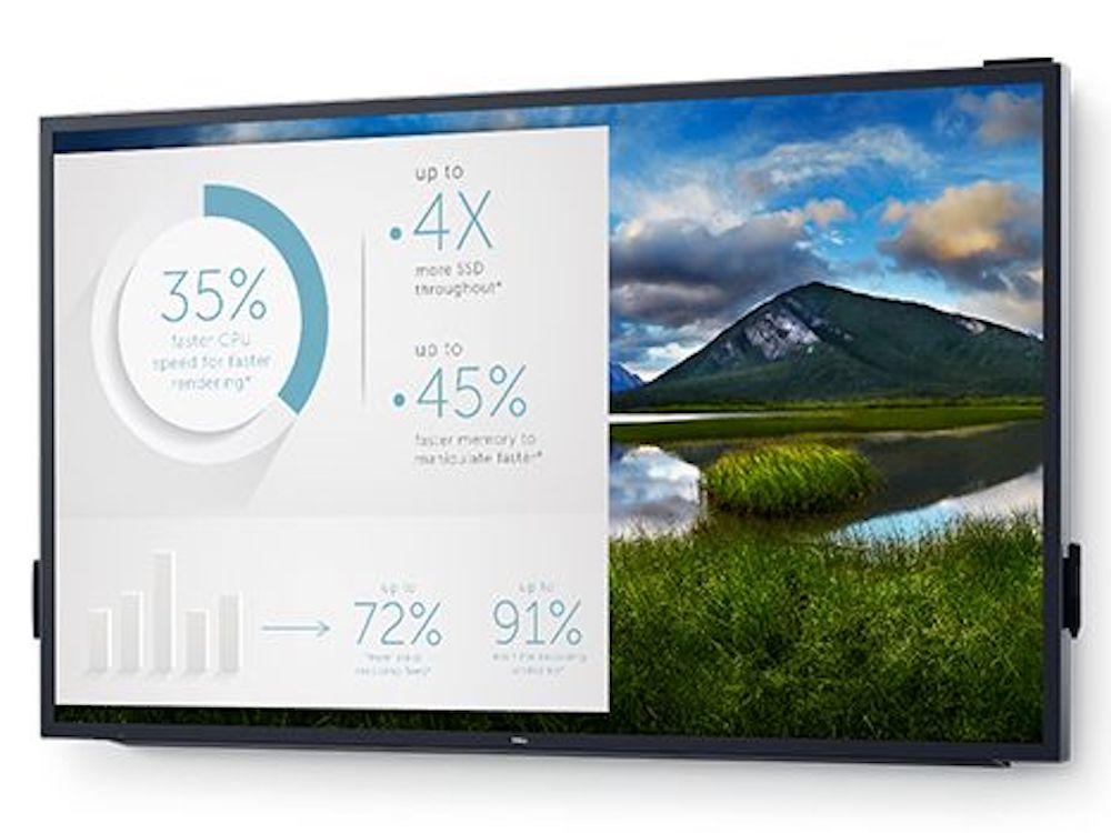 "Flaggschiff der LFDs des Herstellers ist der 86""4K Interactive Touch Screen C8618QT (Foto: Dell EMC)"