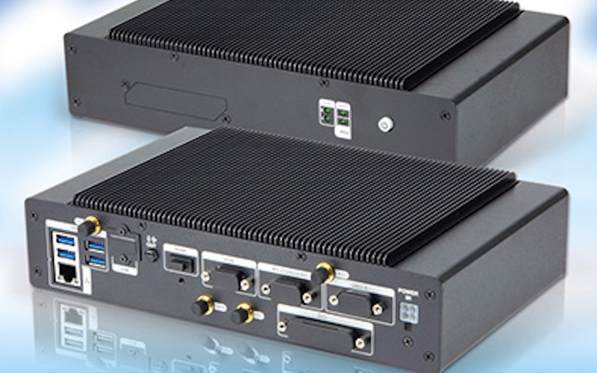 Neuer fanless Embedded PC IVS-110-AL (Foto: COMP-MALL)